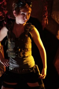 Liesel as Ginger Maldonado—major badass